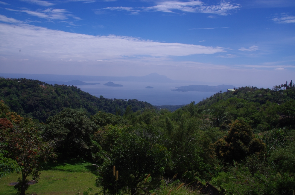 Taal lake view
