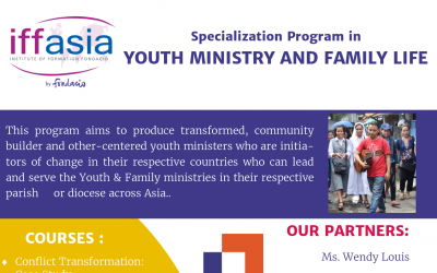 IFFAsia : Youth Ministry & Family Life Specialization