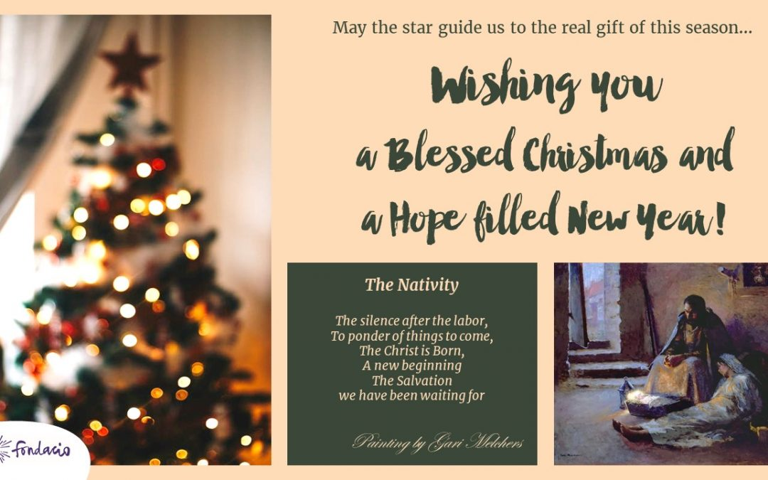 A Blessed Christmas to you!
