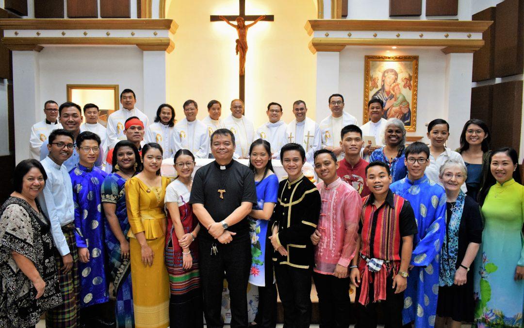 Launching Mass of IFFAsia's Batch 13 participants
