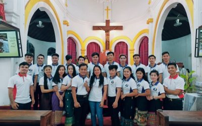 Young Lives Laos' Send-Off Mass