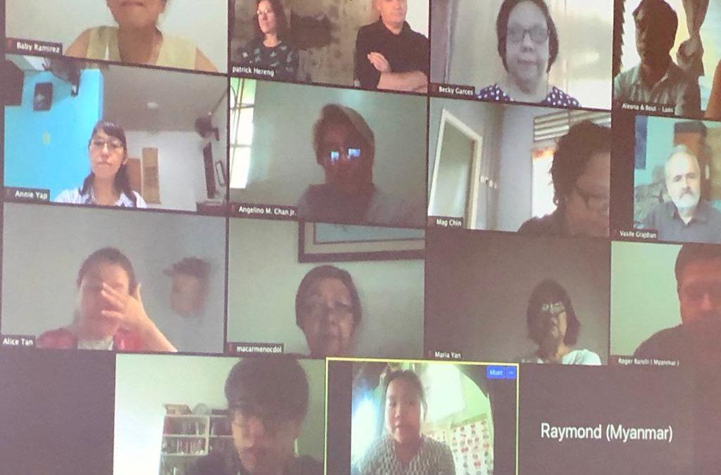 Fondacio Asia Leaders' Spirit-led meeting with Fondacio International Council
