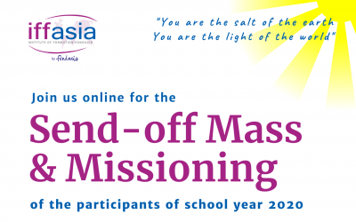 Send-off Mass & Missioning (IFF Asia S.Y. 2020)